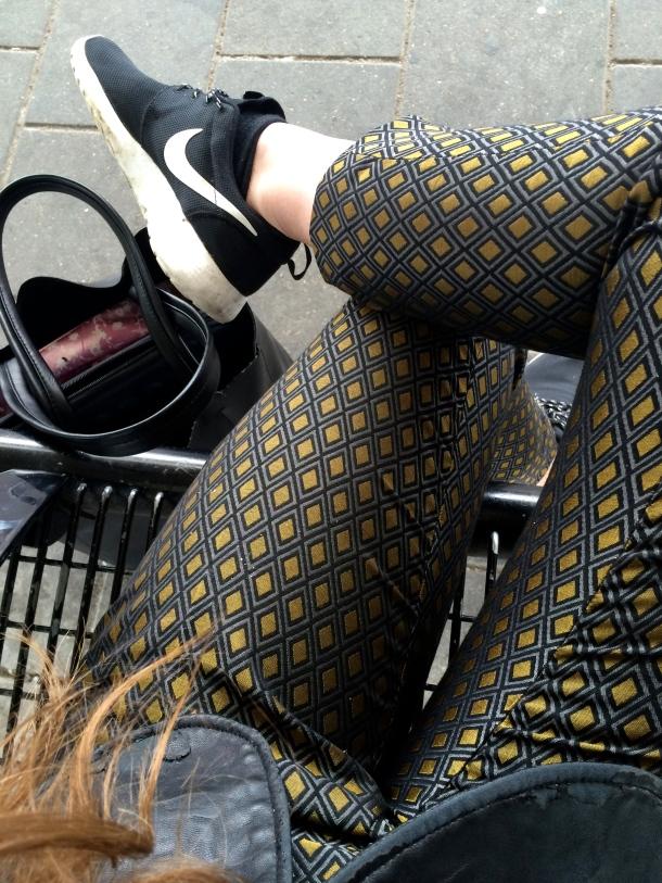 Jacquard H&M pants