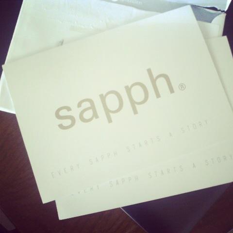 Sapph Invitation