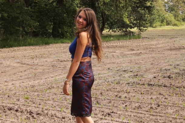 Midi Skirt Zara Trend