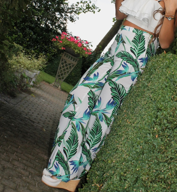High waisted Zara pants