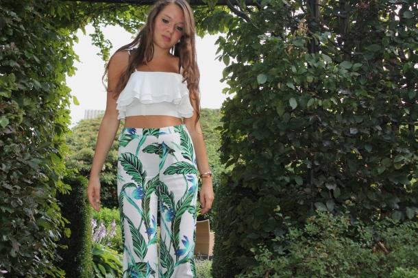 Flower Power Zara Pants